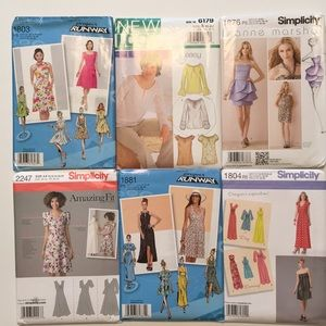 McCalls/ Simplicity sewing patterns NEW